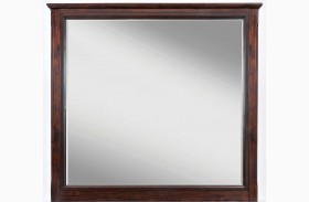 Avignon Birch Cherry Mirror