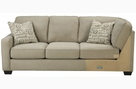 Alenya Quartz Fabric LAF Sofa