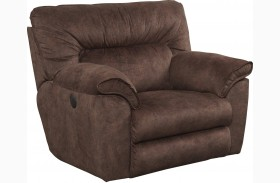 Nichols Chestnut Power Recliner