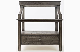 Tremblant Rustic Platinum End Table