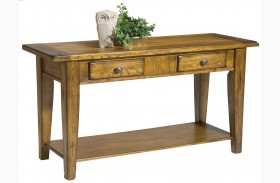 Treasures Oak Sofa Table