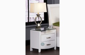 Lyric White Nightstand