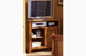 Grandpa's Cabin Aged Oak Media Chest