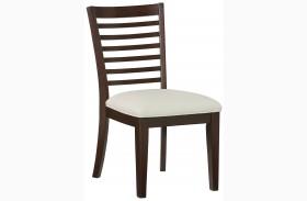 Noveau Dark Merlot Side Chair