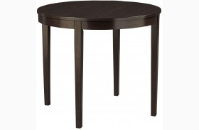 Noveau Dark Merlot Counter Height Round Dining Table