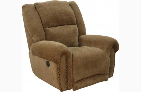 Stafford Caramel Power Recliner