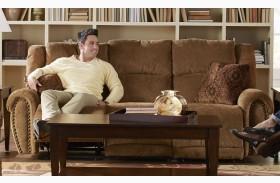 Stafford Tobacco Power Reclining Sofa