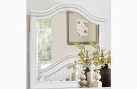 Clementine White Mirror
