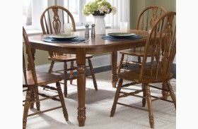 Old World Oval Leg Table - Liberty Furniture