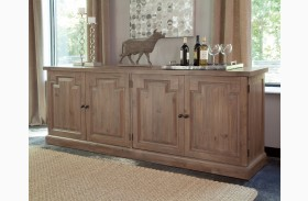 Florence Warm Natural Door Sideboard