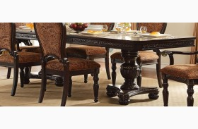 Russian Hill Warm Cherry Extendable Dining Table