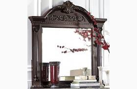 Russian Hill Warm Cherry Mirror