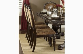 Russian Hill Warm Cherry Side Chair Set of 2
