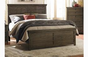 Hardwin Rustic Brown Full Panel Bed