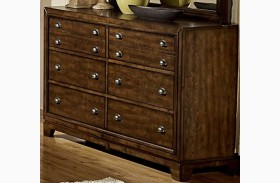 Bernal Heights Warm Cherry Dresser
