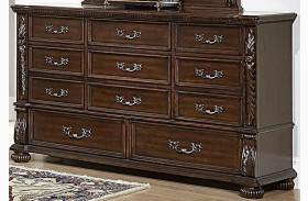 Augustine Court Brown Cherry Dresser