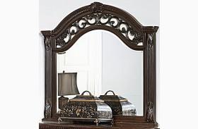 Augustine Court Brown Cherry Mirror