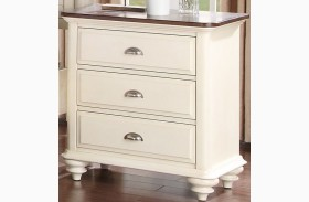 Floresville Antique White Nightstand