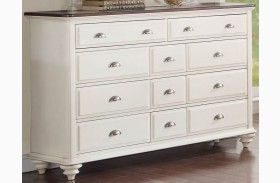 Floresville Antique White Dresser