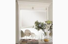 Floresville Antique White Mirror