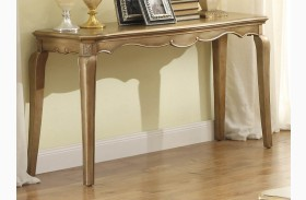 Chambord Champagne Gold Sofa Table
