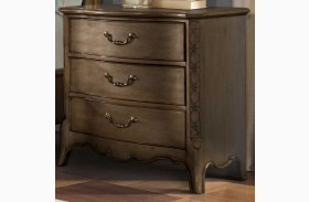 Chambord Champagne Gold Nightstand
