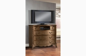Chambord Champagne Gold Tv Chest
