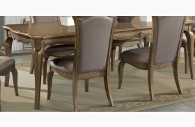Chambord Champagne Gold Extendable Dining Table