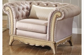 Chambord Champagne Gold Chair