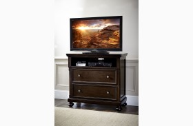 Faust Dark Cherry Tv Chest