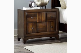 Porter Warm Walnut Nightstand