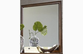 Porter Warm Walnut Mirror