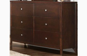 Cullen Brown Cherry Dresser