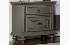 Marceline Grey Nightstand