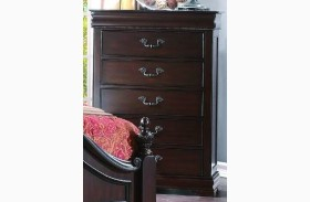 Mont Belvieu Cherry Hidden Drawer Chest