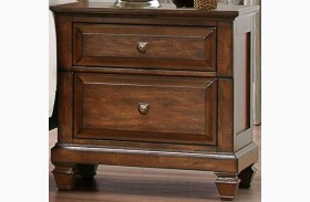 Bardwell Brown Cherry Nightstand