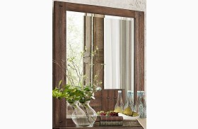Brazoria Natural Wood Mirror