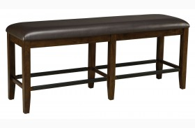 Abaco Warm Dark Tobacco Bench