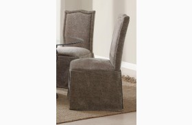 Slauson Beige Parson Chair Set of 2
