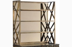 Cross Effect Aged Bronze Prism Metal Deck