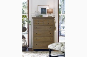 Down Home Oatmeal 6 Drawer Chest