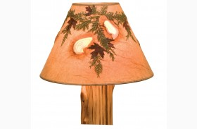 Agates and Foliage Large Lamp Shade