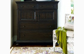Down Home Molasses 4 Drawer Dressing Chest