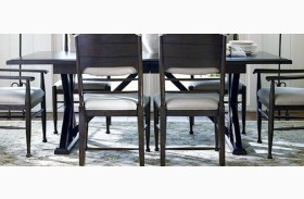 Down Home Molasses Family Style Rectangular Extendable Dining Room Table