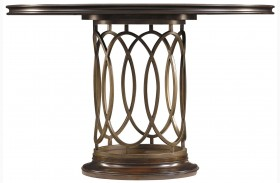 Avalon Heights Chelsea Neo Deco Pedestal Table