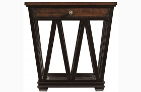 Avalon Heights Chelsea Empire Drawer End Table