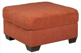 Delta City Rust Oversized Accent Ottoman