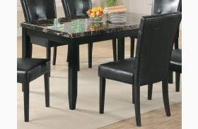 Anisa Dining Table w/ Dark Top - 102791