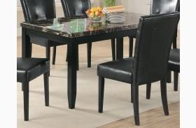 Anisa Dining Table w/ Dark Top - 102791