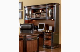Pergola Grand Style Home Office Credenza & Hutch - 800500-800501